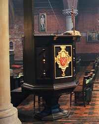 Pulpit side view